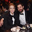 Emily Blunt and John Krasinski :  71st Annual Writers Guild Awards - New York Ceremony - 454 x 313