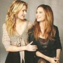 Anna Paquin and her co-star of 1993′s The Piano, Holly Hunter, are featured in the March 2011 issue of InStyle magazine - 454 x 615