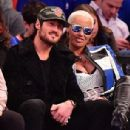 Amber Rose and Val Chmerkovksiy at The Knicks Game at Madison Square Garden in New York City - January 16, 2017  - December 9, 2016 - 306 x 401