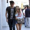 Ashley Tisdale & Martin Johnson Out in Studio City