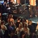 Selena Gomez and Justin Bieber were spotted attending the Hillsong Church in Los Angeles on Sunday,September 21,2014