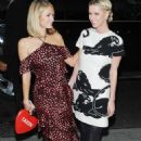 Paris and Nicky Hilton out and about in New York