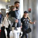 Shakira With Her Family at the Airport in Miami 12/19/ 2016 - 454 x 702