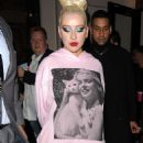 Christina Aguilera – Leaving the Royal Opera House in London