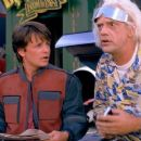 Michael J. Fox and Christopher Lloyd in Back to the Future Part II (1989)
