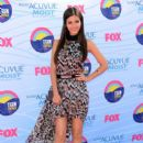 Victoria Justice arrives at the 2012 Teen Choice Awards at Gibson Amphitheatre on July 22, 2012 in Universal City, California