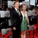 Conan O'Brien and Liza Powell