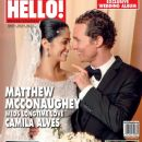 Camila Alves, Matthew McConaughey - Hello! Magazine Cover [United Arab Emirates] (30 June 2012)