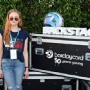 Sophie Turner – Baclaycard Presents British Summer Time Festival in Hyde Park in London, July 2016 - 454 x 300