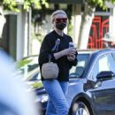 Cameron Diaz – Seen at salon in Los Angeles