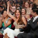 Sofia Vergara accepts Favorite Comedic TV Actress for 'Modern Family' onstage during the People's Choice Awards 2017 at Microsoft Theater on January 18, 2017 in Los Angeles, California