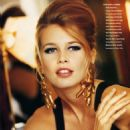 Claudia Schiffer - Vogue Magazine Pictorial [Germany] (January 1991)