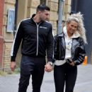 Molly Mae with Boyfriend Tommy Fury out in Manchester - 454 x 678