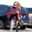 Ali Larter spotted out and about in West Hollywood, California on January 29, 2014