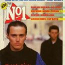 Roland Orzabal, Curt Smith - No1 Magazine Cover [United Kingdom] (25 May 1985)