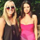 Selena Gomez On Set Of Neighbors 2 Sorority Rising In Atlanta