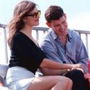 Kate Fischer and James Packer