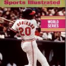 Frank Robinson - Sports Illustrated Magazine Cover [United States] (18 October 1971)