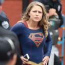 "Melissa Benoist – ""Supergirl"" Set in New Westminster, Canada 07/27/2017"