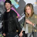 Jamie Kennedy and Girlfriend Nicolle Radzivil 2012 - 400 x 560