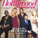 Mariah Carey, Randy Jackson, Nicki Minaj, Ryan Seacrest, Keith Urban - The Hollywood Reporter Magazine Cover [United States] (11 January 2013)