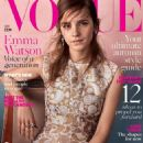 Emma Watson Vogue Uk Magazine September 2015