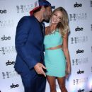 Brody Jenner and his girlfriend Kaitlynn Carter at Jenner's Las Vegas DJ debut at Hyde Bellagio on July 18, 2014 in Las Vegas