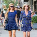 Nicky and Paris Hilton Out In Soho
