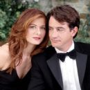 Dermot Mulroney and Debra Messing