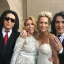 Gene Simmons and Shannon Tweed with Paul & Erin Stanley - 454 x 363