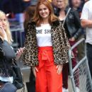 Isla Fisher at BBC Broadcasting House in London - 454 x 736