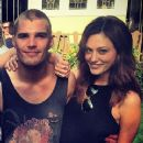 Phoebe Tonkin and Chris Zylka <3 - 370 x 573