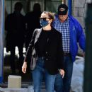 Jennifer Garner – Spotted on the construction of her new home in Brentwood