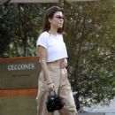 Kourtney Kardashian – Leaves Cecconi's and Alfred Tea Room in West Hollywood