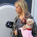 Ashley Tisdale's Dog Day Afternoon