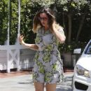 Kelly Brook Out In Santa Monica