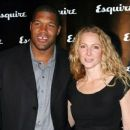 Michael Strahan and Jean Muggli