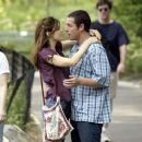 Adam Sandler and Marisa Tomei