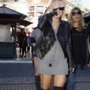 Lindsay Lohan Out Shopping At The Grove