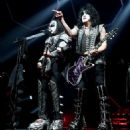 Paul Stanley of KISS performs during their End Of The Road World Tour at The Forum on February 16, 2019 in Inglewood, California - 454 x 520