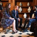 The Duke and Duchess of Cambridge Visit Paris: Day Two - 454 x 304