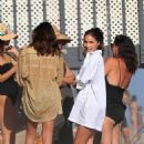 Olivia Culpo – Celebrating Cara Santana's birthday at the beach in Malibu - 454 x 681