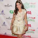 Adriana Fonseca 2015 Hollywood Christmas Parade In Hollywood