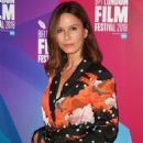 Rhona Mitra – 'The Fight' Premiere at 62nd BFI London Film Festival - 454 x 598