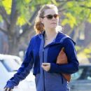 Amy Adams in Tights After a Workout in West Hollywood December 9, 2016