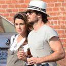 Nikki Reed and Ian Somerhalder out in Venice - 454 x 542