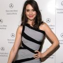 Alison Brie - Mercedes-Benz Fashion Week Fall 2010 - Herve Leger By Max Azria On February 14, 2010 In New York