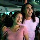 Amy Jo Johnson and Jason David Frank