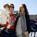 Jeff Gordon and Ingrid Vandebosch Photograph - 454 x 312