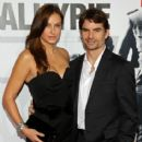 Jeff Gordon and Ingrid Vandebosch Photograph - 414 x 594